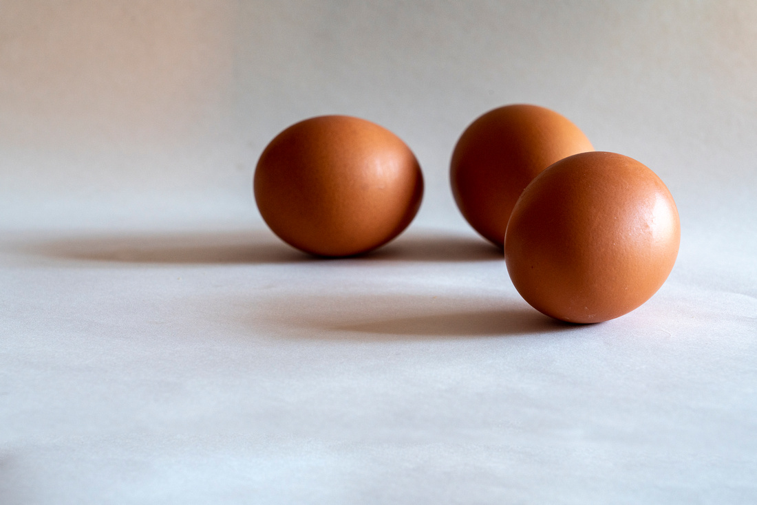Eggs out of basket
