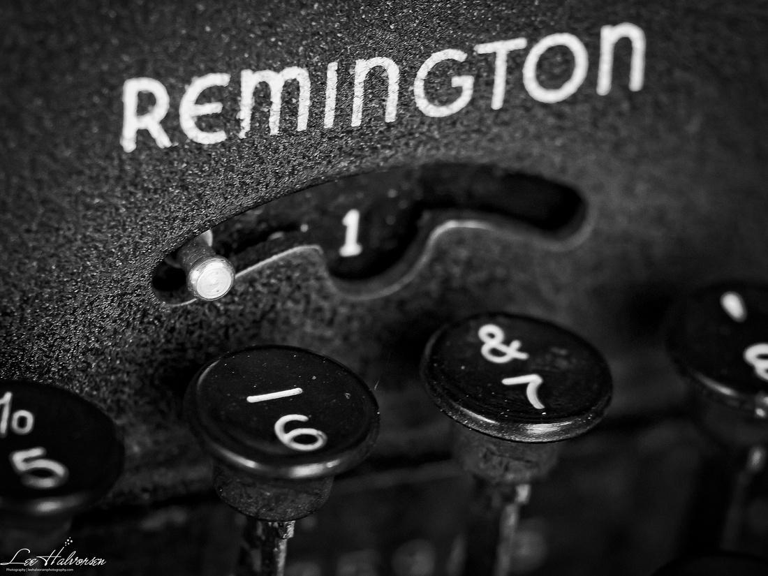 Remington Typewriter...
