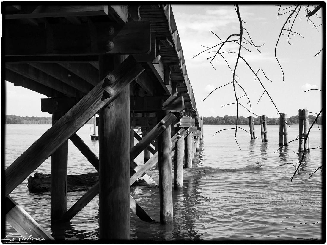 Dock into Potomac River at Piscataway National Park