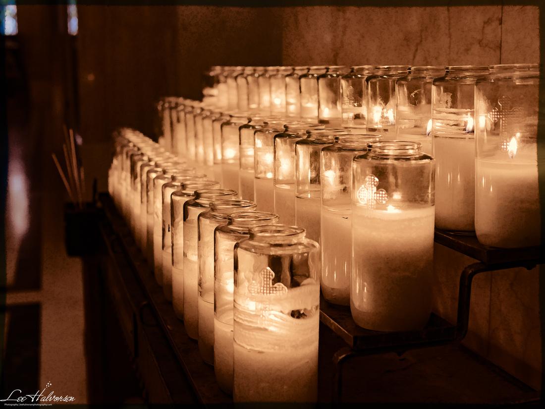 Candles at Basilica