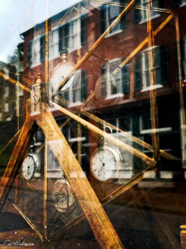 Watch Maker's Window Harper's Ferry