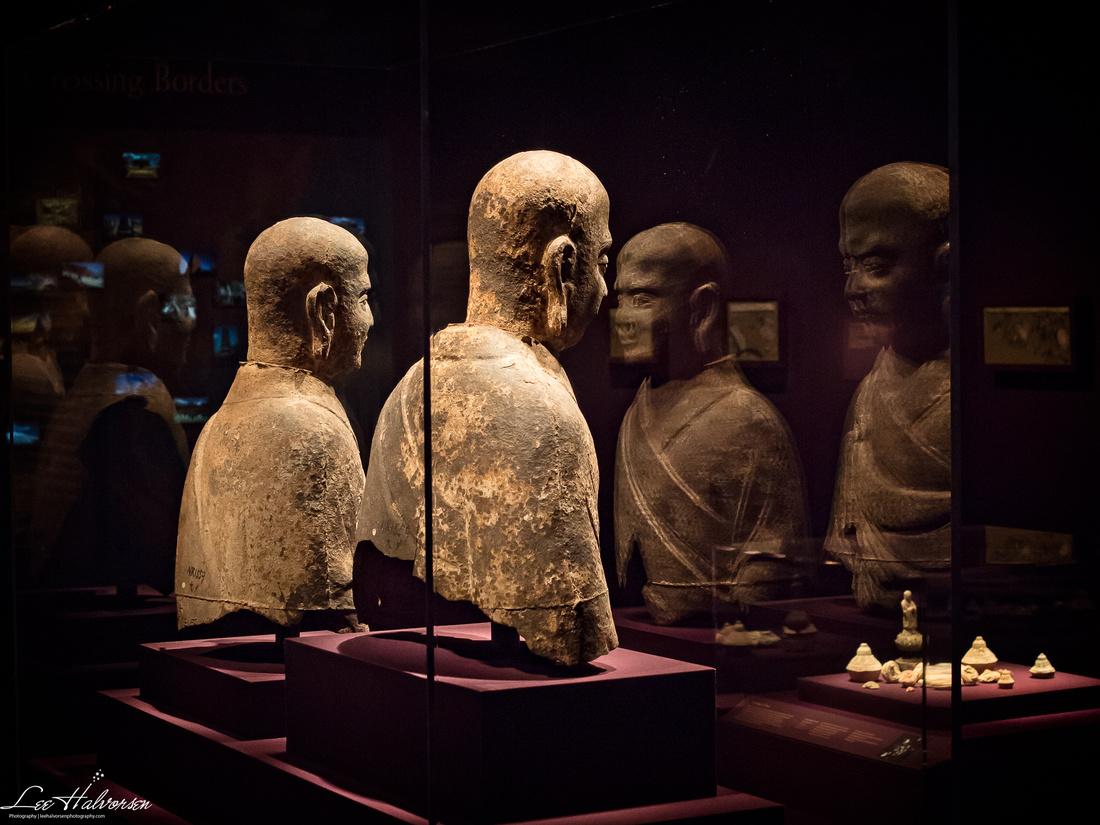 Buddha staring