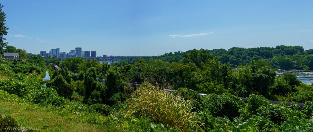 Richmond Skyline and James River