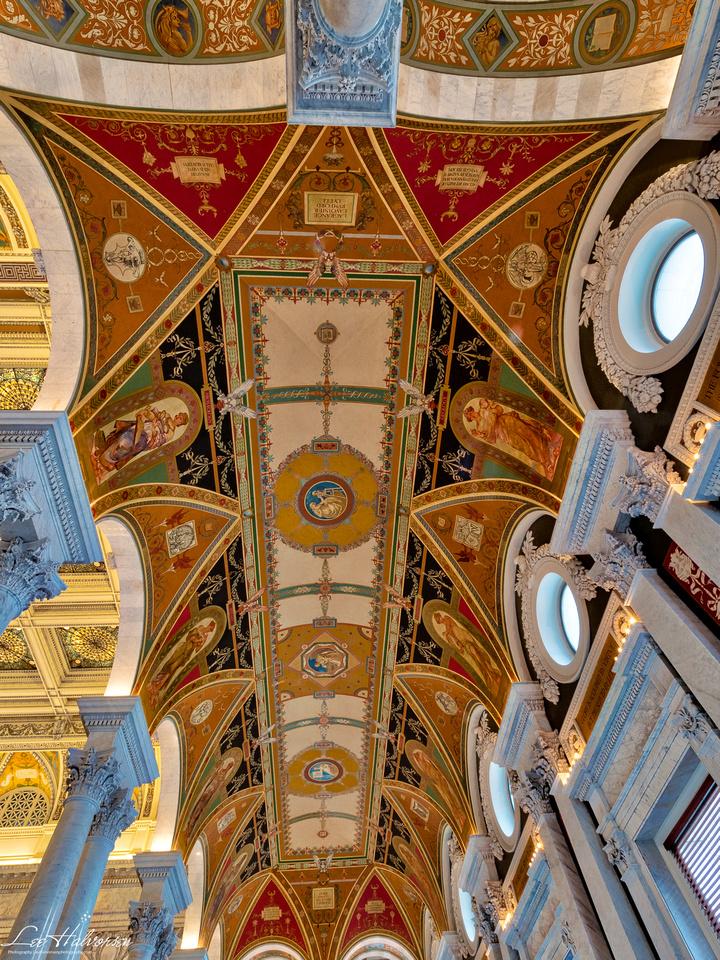 Great Hallway ceiling