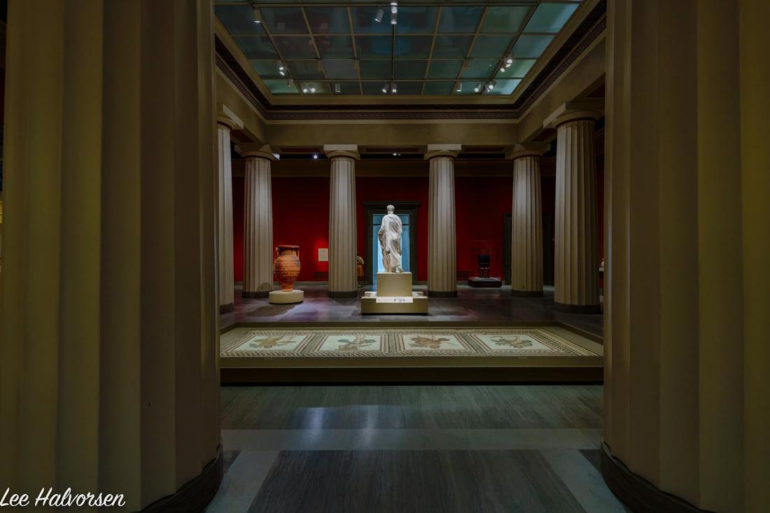 Roman Exhibit in the VMFA