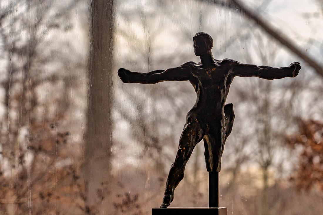 Rodin Sculpture in the Kreeger Museum