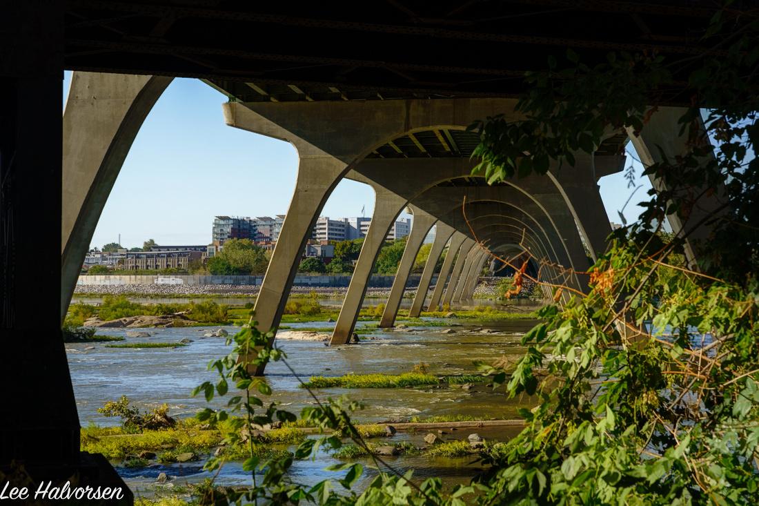Under the Bridge in Richmond