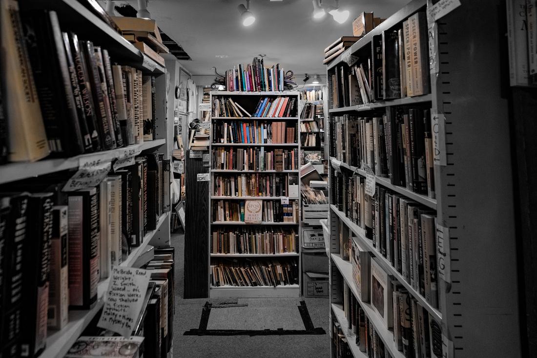 Capitol Hill Books near Eastern Market in DC