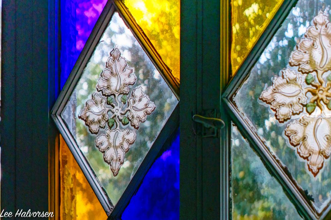 St Emma Hand Painted Window