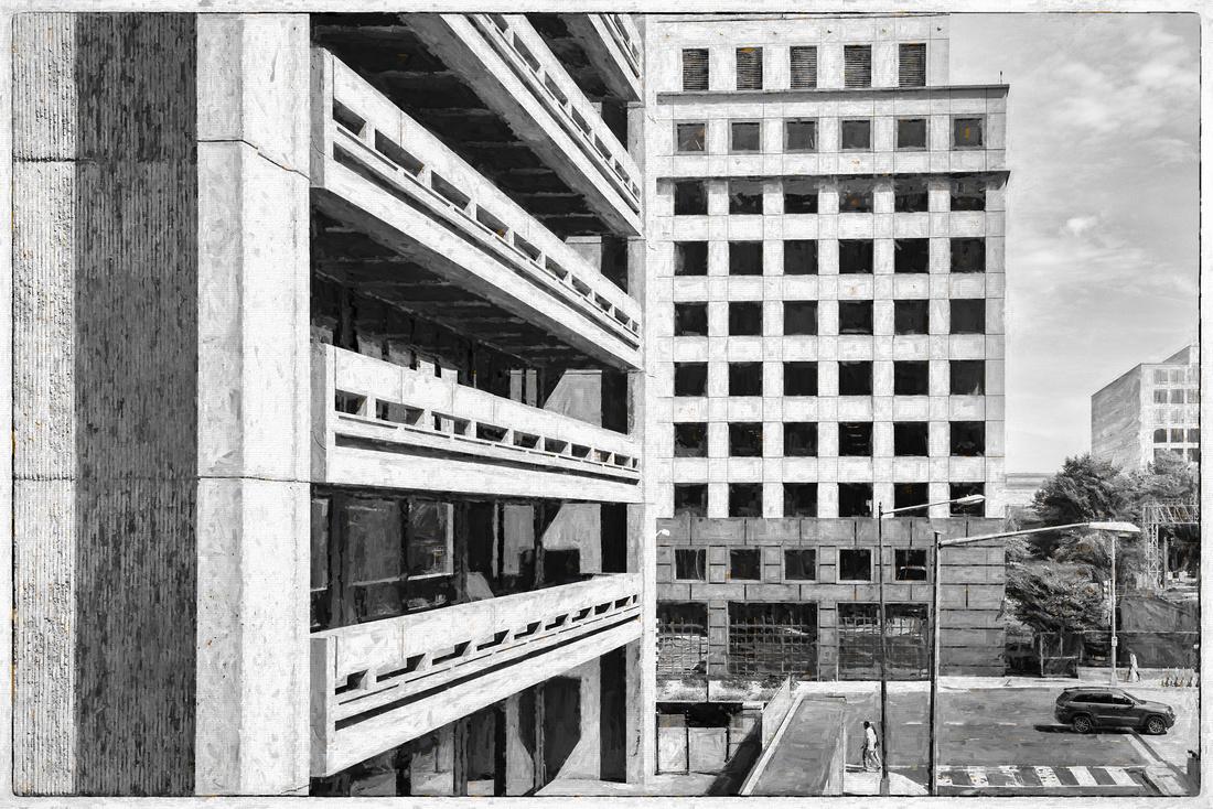 Washington, D.C. L'Enfant Plaza area