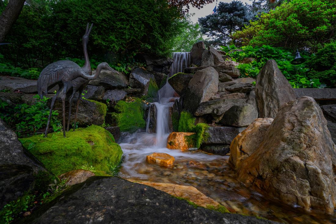 Hillwood Museum, Japanese Falls
