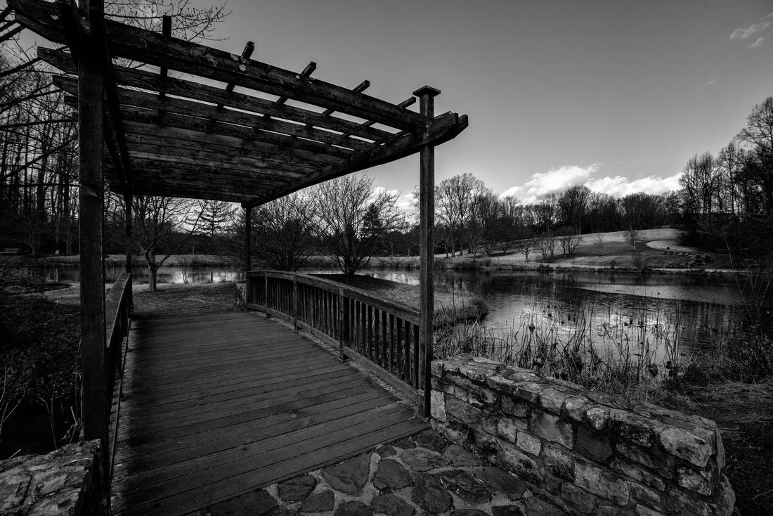 Walking Bridge at Meadowlark