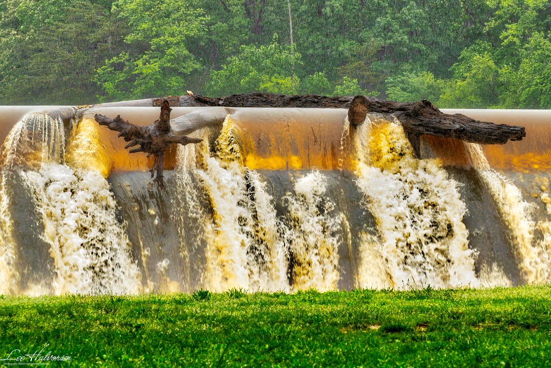 Dam at Lake Accotink