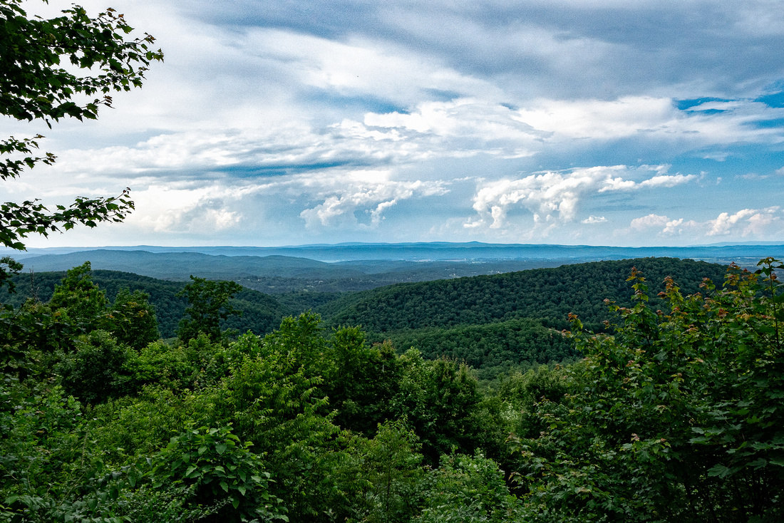 View from Draper Mountain
