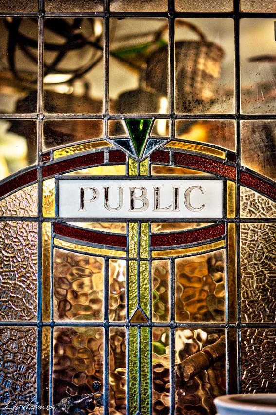 Pub Door Glass