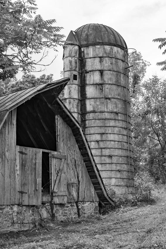 Old Barn & Silo