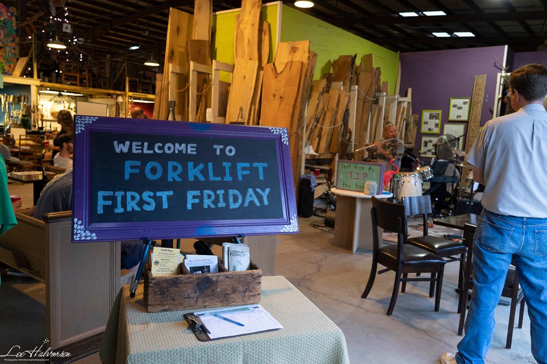 Forklift's First Fridays