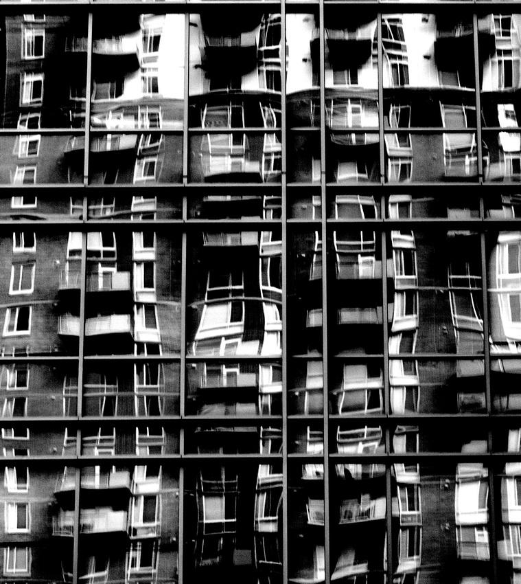Tysons Corner Building Reflection