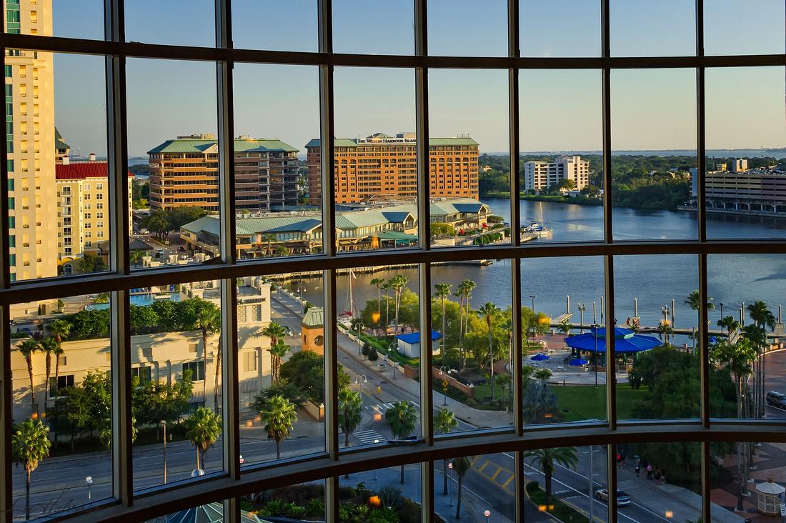 Tampa Docks at Sunrise