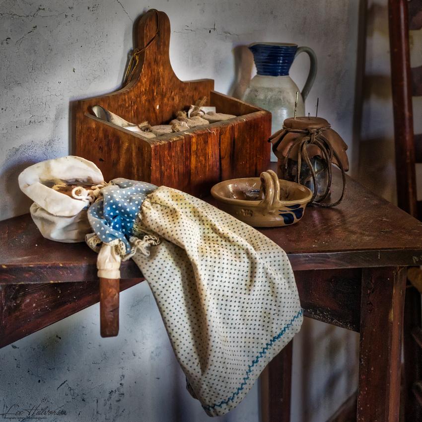 Piscataway homestead doll