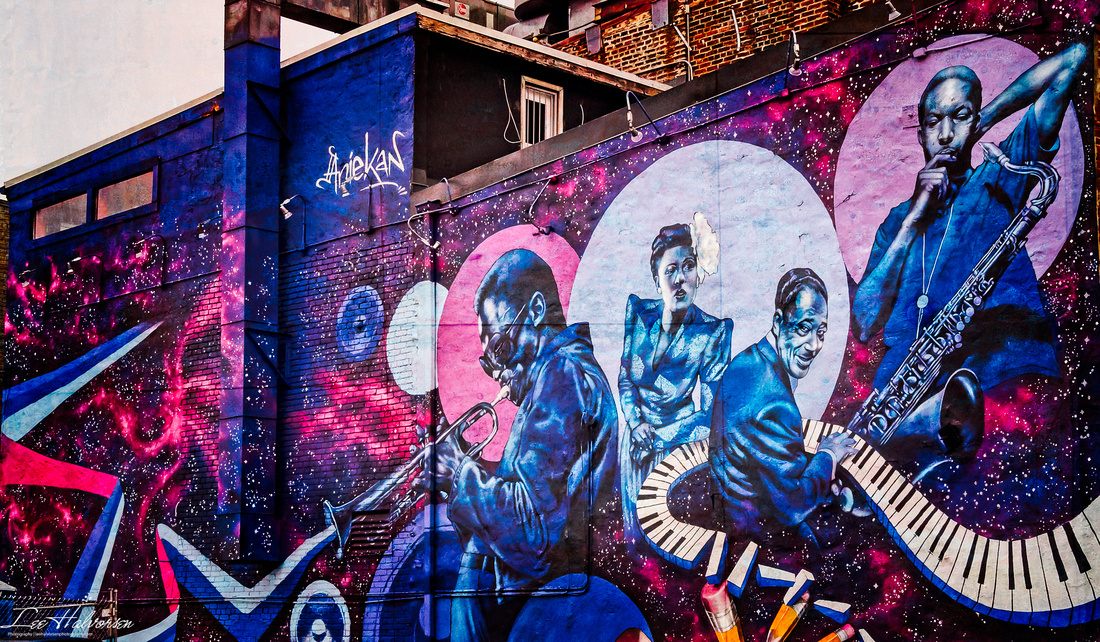U Street Jazz Club Mural